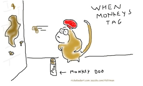 When Monkeys Tag